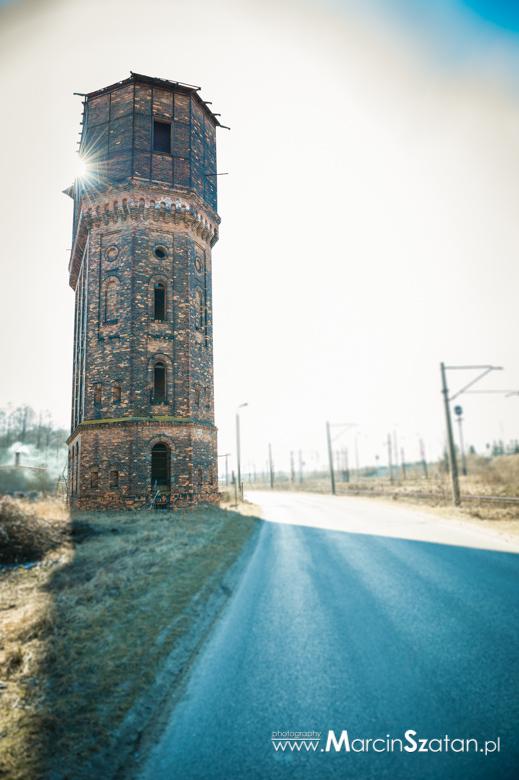 Kolejowa wieża ciśnień Łazy, Śląsk