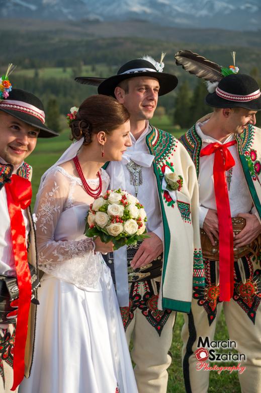 fotograf ślubny po góralsku